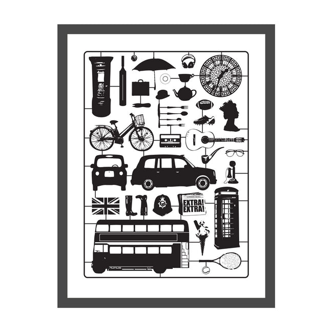 Airfix London Screen Print (Small)