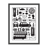 Airfix London Screen Print Small