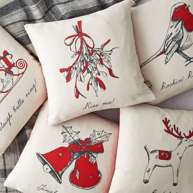 Mistletoe Cushion Cover