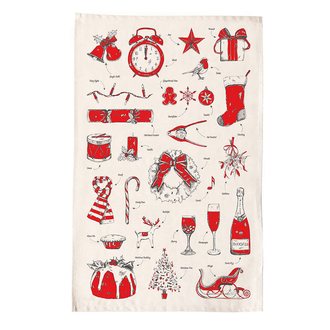 Christmas Delights Tea Towel