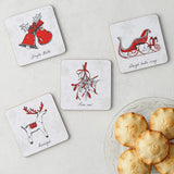 Christmas Delights Icons Coaster - Set of 4