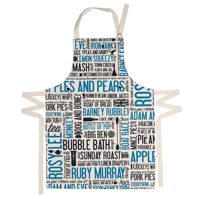 Cockney Rhyming Slang Apron