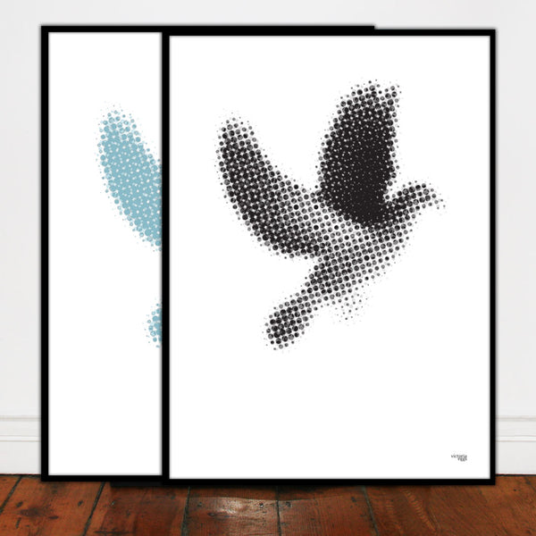 Dove Screen Print