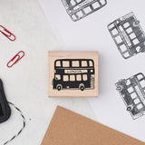 London Bus Stamp - Large