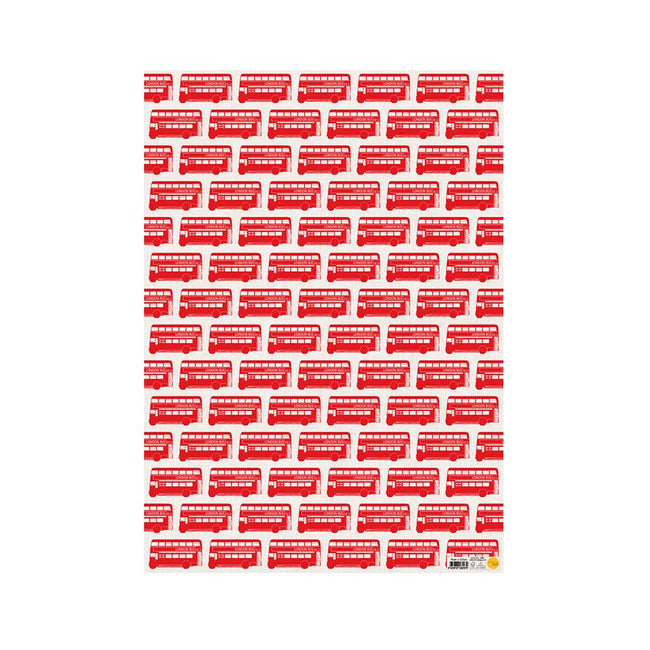 London Bus Gift Wrap