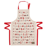 London Christmas Adult & Child Apron
