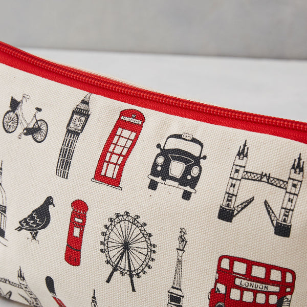 London Icons Cosmetic Bag