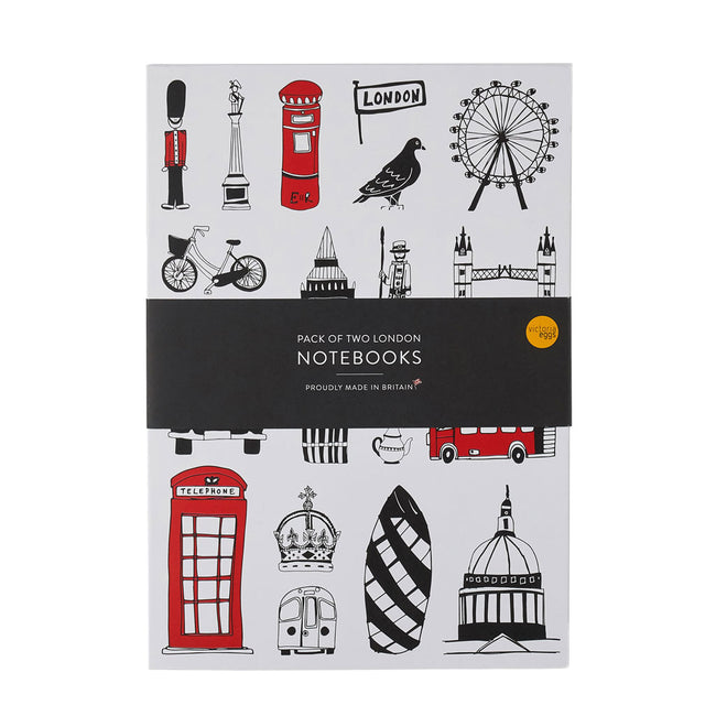Two London A5 Notebooks GIFT SET