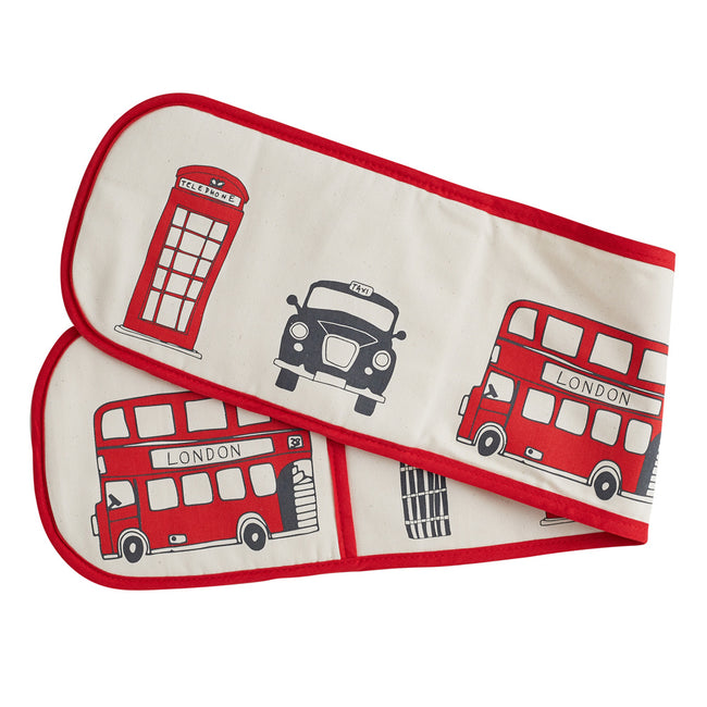London Skyline Double Oven Glove