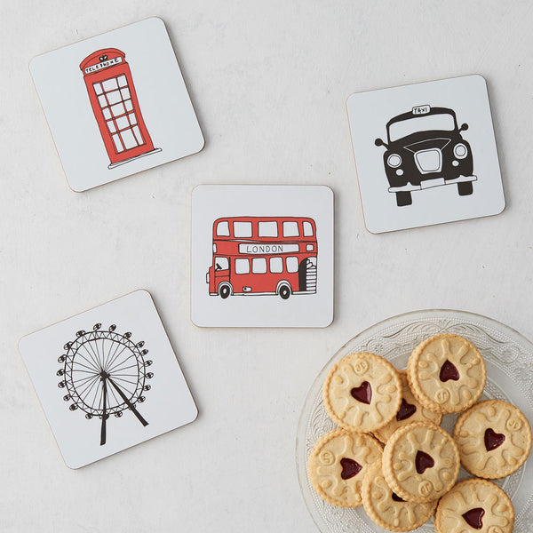 London Skyline Coaster - Set of 4