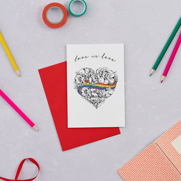 Love is Love Greeting Card