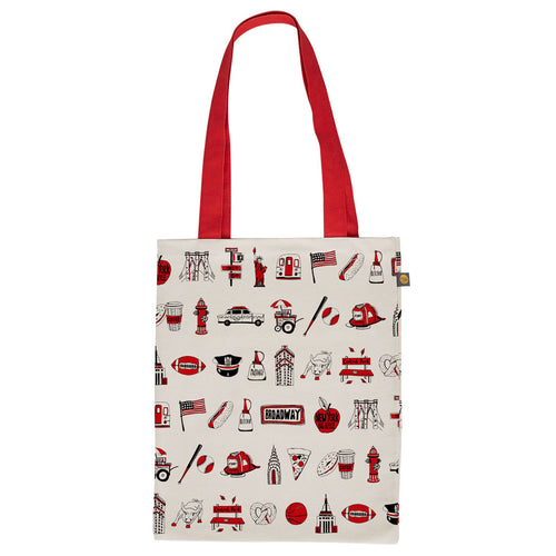 New York, New York Canvas Bag