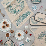 Night Before Christmas Mug and Tea Towel Gift Set