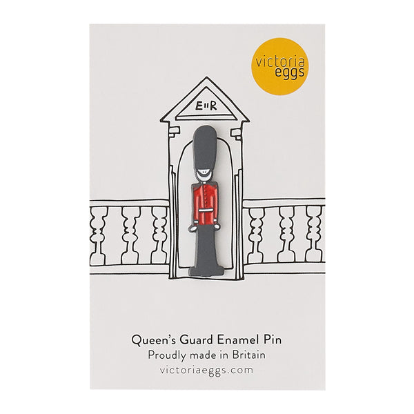 Queen's Guard Enamel Pin Badge