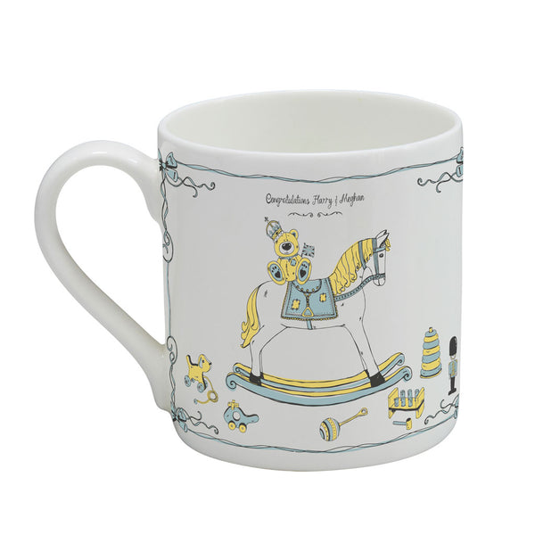 PRE-ORDER Prince Harry and Meghan's Royal Baby Mug