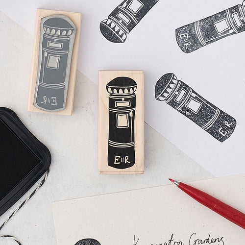 London postbox rubber stamp, Small London rubber stamp, London rubber stationary stamp, London postbox stationary stamp, London scrapbooking stamp, London royal postbox scrapbooking stamp