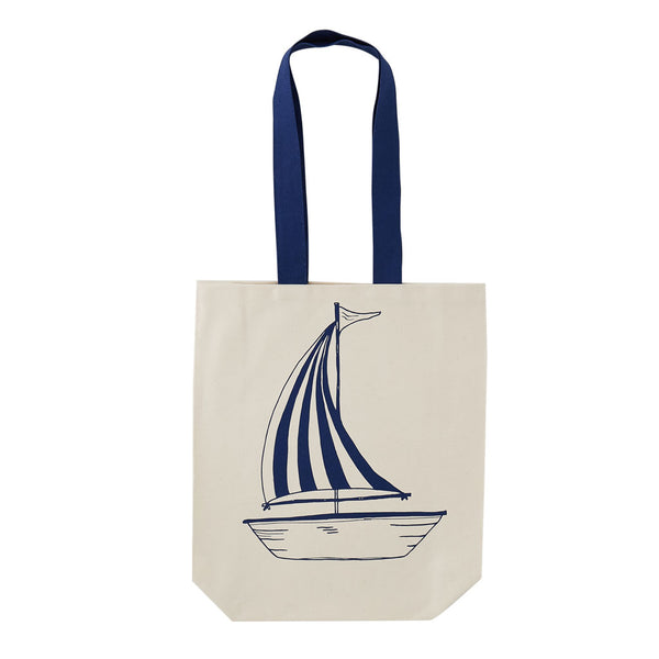 b69ee10eed558f Anchor and Sailing Boat Canvas Bag – Victoria Eggs