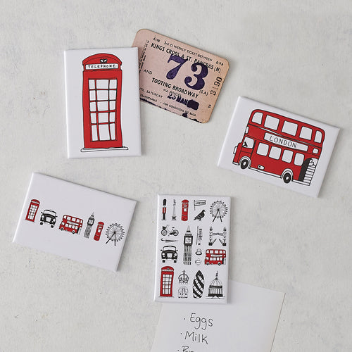 London Magnets - Set of 4
