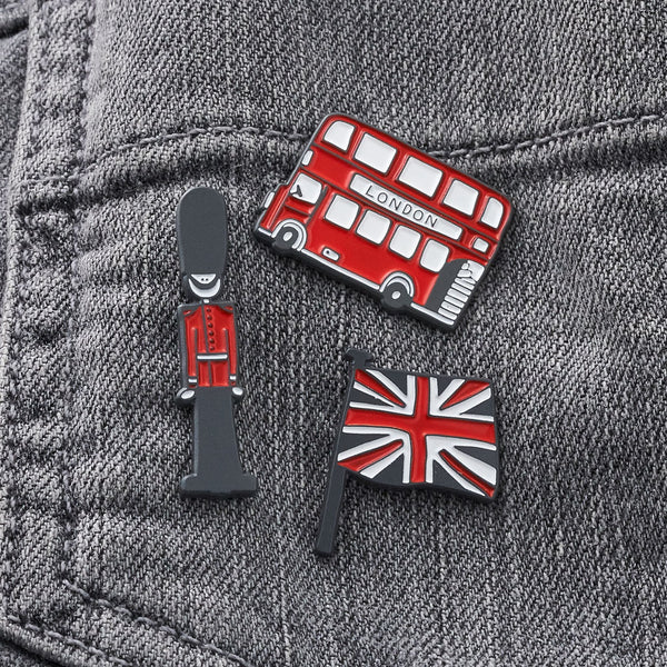 Union Jack Enamel Pin Badge