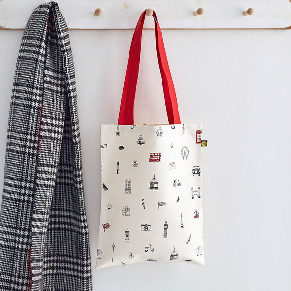 Simply London Canvas Bag