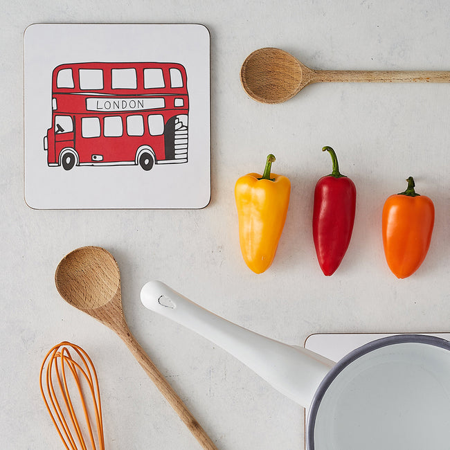 Simply London Bus Pot Stand