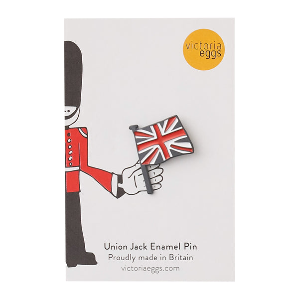 SET OF 3 - London Bus, Queen's Guard, & Union Jack Enamel Pin Badges