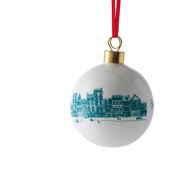 Night Before Christmas Fine Bone China Bauble