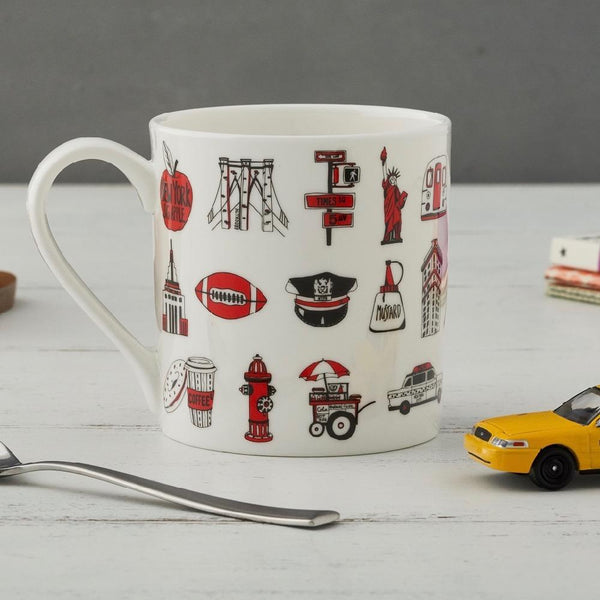 New York New York Mug & Tea Towel GIFT SET