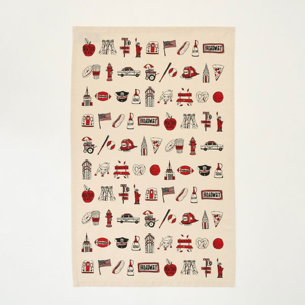 New York, New York Tea Towel