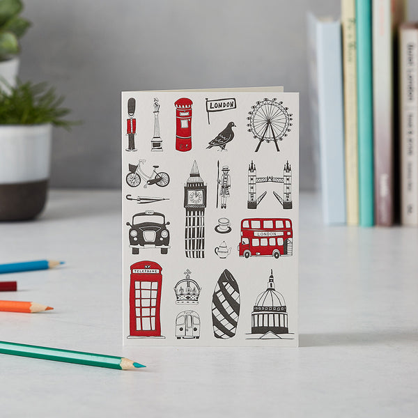 London Greetings Cards - Set of 9