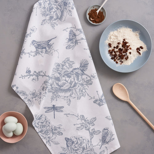 Wildlife in Spring Tea Towel