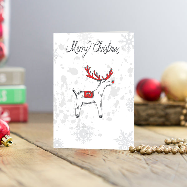 Rudolph Greeting Card - pack of 5