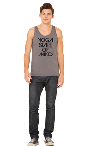 Yoga State of Mind Unisex Tank - Asphalt