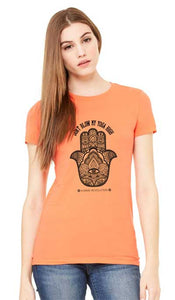 Hamsa Women's Tee - Orange