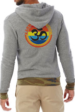 Karma Om Unisex Hoodie - Heather Grey/Camo