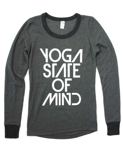 Yoga State of Mind Women's Thermal Long Sleeve