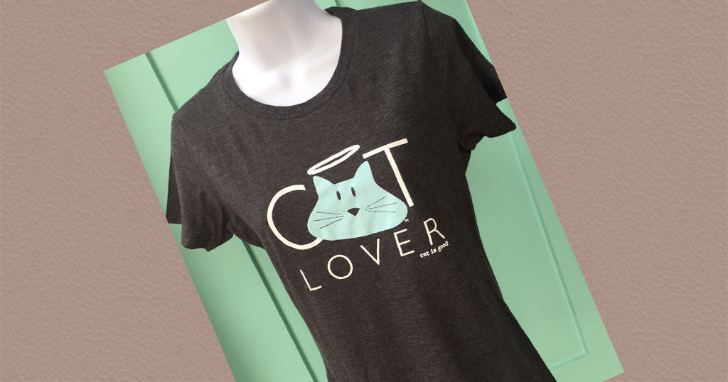 New in Stock - Cat Lover Tee EXCLUSIVE by Dog is Good