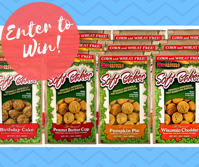 Sweepstakes Announcement: Win a 6 Month Supply of All-Natural Dog Treats!