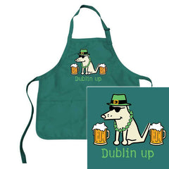 Teddy the Dog Dublin Up Apron