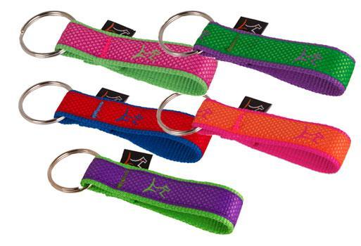 "Poocheo.com: Lupine Club Collection Nylon Keychain - 1"" Width (Multiple Patterns Available)"