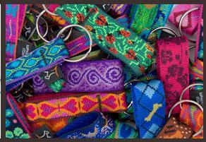 "Poocheo.com: Lupine Originals Collection Nylon Keychain - 3/4"" Width (Multiple Patterns Available)"