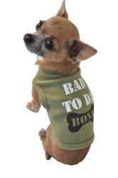 Poocheo: Bad to Da Bone Tank Top for Dogs by Ruff Ruff & Meow