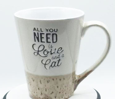 All You Need is Love and a Cat - Mug by Spectrum