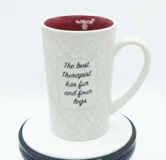 The Best Therapist has Fur - Mug by Spectrum