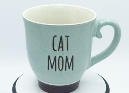 Cat Mom (Blue) - Mug by Spectrum