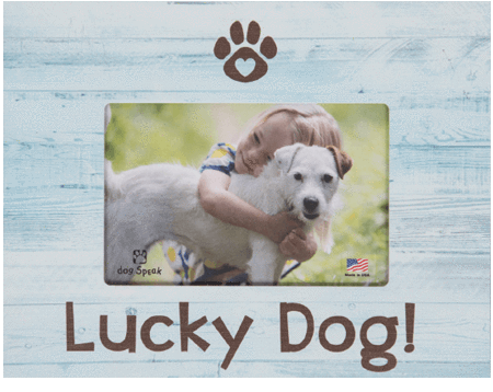 Picture Frame - Lucky Dog