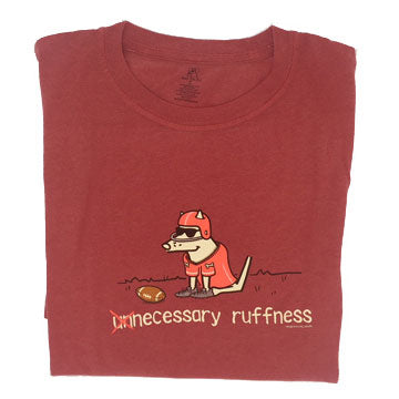 Teddy the Dog Classic Tee - Unnecessary Roughness