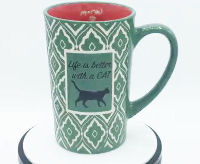 Life is Better With a Cat - Mug by Spectrum