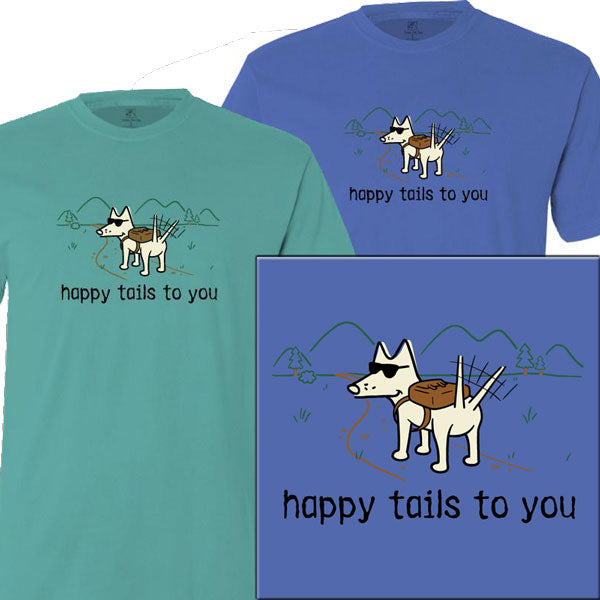 Teddy the Dog Classic Tee - Happy Tails to You