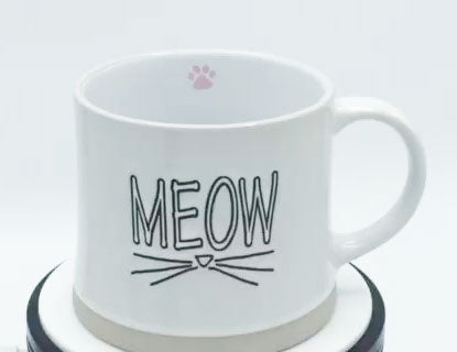 Meow (White) - Mug by Spectrum